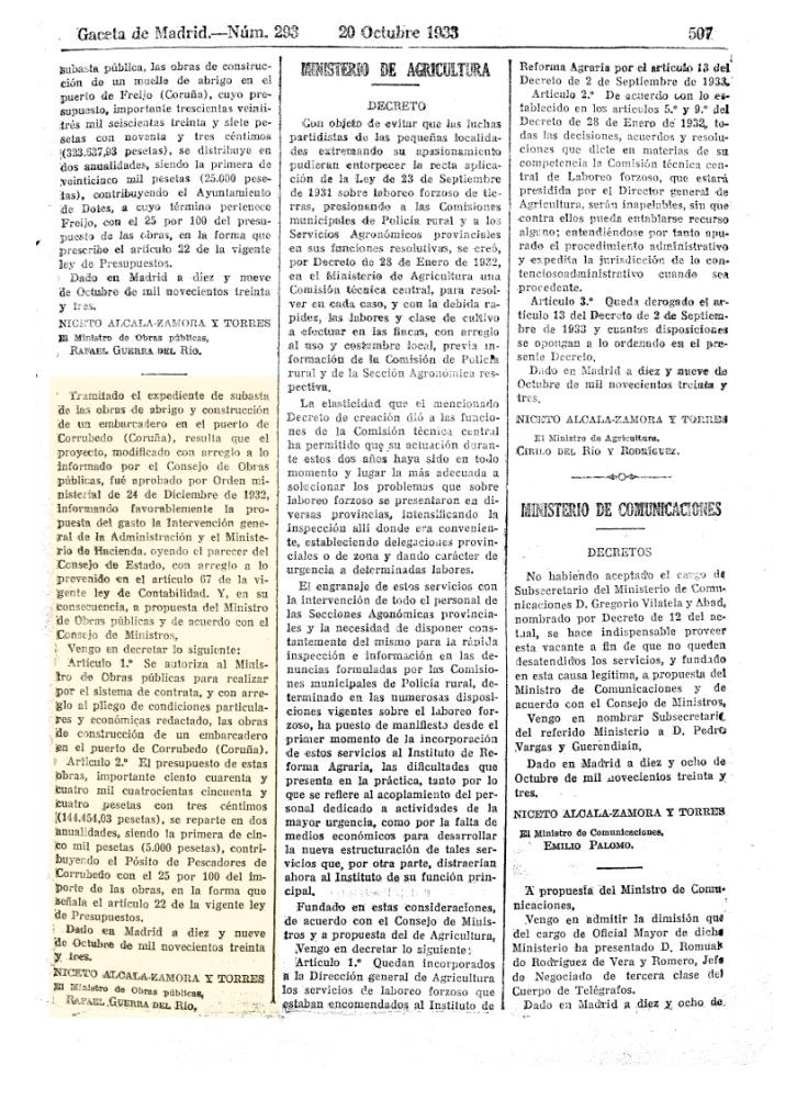 gaceta-de-madrid-licitacion-puerto-corrubedo