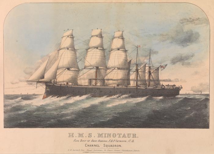 HMS Minotaur, PW8151