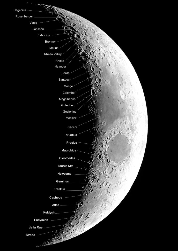 AF11-29. The Moon© Akira Fujii/DMI Image supplied by David Malin Images
