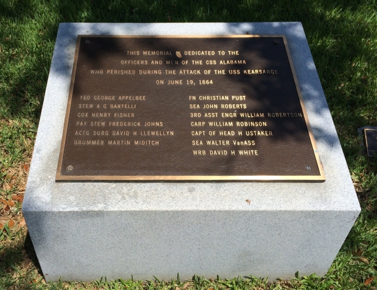 CSS Alabama Memorial Marker